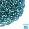 Бисер TOHO №11 цвет 0377 прозрачный хрусталь бирюзовое внутреннее отверстие ЯПОНИЯ пакет 10 граммов t110377 - 99 бусин