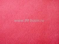 Фетр, материал полиэстр, цвет фуксия (№ 24), размер 30*20 см,  толщина 1 мм,  1 лист 051881 - 99 бусин