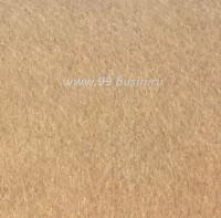 Фетр, материал полиэстр, цвет светло-коричневый (№ 10), размер 30*20 см,  толщина 1 мм,  1 лист 053385 - 99 бусин