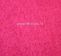 Фетр, материал полиэстр, цвет маджента (№ 11),  30*20 см,  толщина 1 мм,  1 лист 053388 - 99 бусин