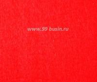 Фетр, материал полиэстр, цвет новогодний красный  30*20 см,  толщина 1 мм,  1 лист 053390 - 99 бусин