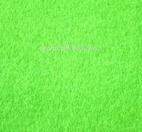 Фетр, материал полиэстр, цвет лайм (№ 09),  30*20 см,  толщина 1 мм, 1 лист 053393 - 99 бусин