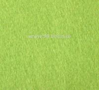 Фетр, материал полиэстр, цвет васаби (№ 08),  30*20 см,  толщина 1 мм,  1 лист 053395 - 99 бусин