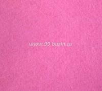 Фетр, материал полиэстр, цвет темный розовый барби (№ 22),  30*20 см,  толщина 1 мм,  1 лист 053483 - 99 бусин