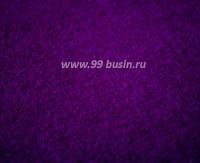 Фетр, материал полиэстр, цвет темно-фиолетовый (№ 32), 30*20 см, толщина 1 мм, 1 лист 053485 - 99 бусин