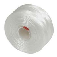 Нить Superlon (S-lon) AA цвет White катушка 68,58 метров 053857 - 99 бусин