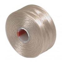 Нить Superlon (S-lon) AA цвет Beige катушка 68,58 метров 053860 - 99 бусин