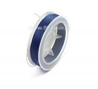 Нить для бисера Титан-100 цвет синий 2784 катушка 100 метров, толщина 0,1 мм полиэстер 100% 053917 - 99 бусин