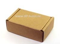 Коробочка сборная № 2 из гофрокартона толщиной 1,5 мм, размер 70*48*25 мм 1 штука 054094 - 99 бусин