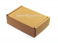 Коробочка сборная № 3 из гофрокартона толщиной 1,5 мм, размер 85*60*25 мм 1 штука 054095 - 99 бусин