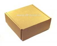Коробочка сборная № 6 из гофрокартона толщиной 1,5 мм, размер 123*123*45 мм 1 штука 054097 - 99 бусин