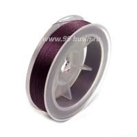 Нить для бисера Титан-100 цвет фиолетовый №2645 катушка 100 метров, толщина 0,1 мм полиэстер 100% 054180 - 99 бусин
