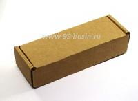 Коробочка сборная № 9 из гофрокартона толщиной 1,5 мм, размер 120*40*25 мм 1 штука 054197 - 99 бусин