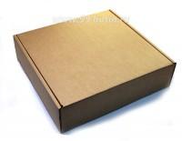Коробочка сборная № 8 из гофрокартона толщиной 1,5 мм, размер 170*170*45 мм 1 штука 054198 - 99 бусин