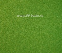 Фетр, материал полиэстр, цвет свежая хвоя (№ 12), размер 30*20 см,  толщина 1 мм,  1 лист 054234 - 99 бусин