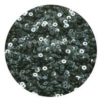 Мини пайетки плоские 2.5 мм  № 846 India Ink Color Sequins Индия 3 грамма (около 1200 штук) 054263 - 99 бусин