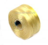 Нить Superlon (S-lon) AA цвет Cream катушка 68,58 метров 054384 - 99 бусин