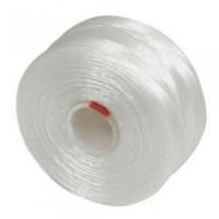 Нить Superlon (S-lon) D цвет White, толщина 0,11 мм, катушка 71,3 метра 054387 - 99 бусин
