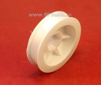 Нить для бисера Титан-100 цвет белоснежный 2500 катушка 100 метров, толщина 0,1 мм полиэстер 100% 054536 - 99 бусин