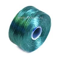 Нить Superlon (S-lon) AA цвет Sea Foam Green катушка 68.58 метров 054845 - 99 бусин