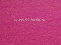 Фетр, материал полиэстр, цвет темно-розовый (№ 23), 30*20 см,  толщина 1 мм,  1 лист 055101 - 99 бусин