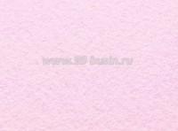 Фетр, материал полиэстр, цвет бледно-розовый, 30*20 см,  толщина 1 мм,  1 лист 055365 - 99 бусин