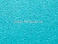 Фетр, материал полиэстр, цвет небесно-голубой, 30*20 см,  толщина 1 мм,  1 лист 055367 - 99 бусин