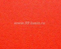 Фетр, материал полиэстр, цвет неоновый оранжевый, 30*20 см,  толщина 1 мм,  1 лист 055368 - 99 бусин