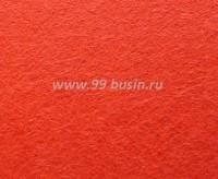 Фетр, материал полиэстр, цвет тропический оранжевый, 30*20 см,  толщина 1 мм,  1 лист 055369 - 99 бусин
