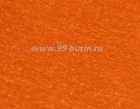 Фетр, материал полиэстр, цвет тыквенный, размер 30*20 см,  толщина 1 мм,  1 лист 056501 - 99 бусин
