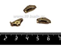 Подвеска Трусики в горошек 15*7 мм, цвет бронза 1 штука 056551 - 99 бусин