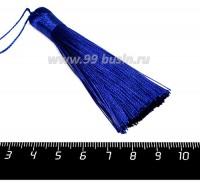 Кисточка 8 см, цвет синий, материал полиэстр, 1 штука 056785 - 99 бусин
