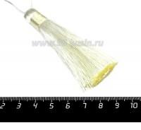 Кисточка 8 см, цвет айвори, материал полиэстр, 1 штука 056790 - 99 бусин