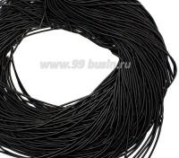 Канитель ОПТ 1 мм мягкая матовая, цвет MК-16 чёрный 50 граммов/упаковка Индия 057331 - 99 бусин