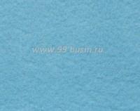 Фетр, материал полиэстр, цвет легкий голубой 30*20 см,  толщина 1 мм,  1 лист 058177 - 99 бусин