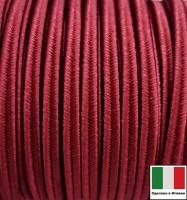 Сутаж премиум Италия 4 мм цвет Bordeaux (бордо) 1 метр 058691 - 99 бусин