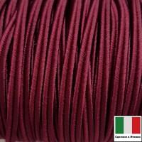 Сутаж премиум Италия 4 мм цвет Marsalla (марсала) 1 метр 058692 - 99 бусин