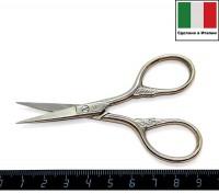 Ножницы вышивальные Италия модель № 245 Venezia размер 9 см хромированные 058713 - 99 бусин