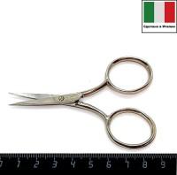 Ножницы вышивальные Италия модель № 240 Rimini размер 9 см хромированные 058716 - 99 бусин
