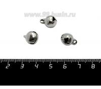 Подвеска нержавеющая сталь Бубенчик 13*10 мм, 1 штука 059002 - 99 бусин