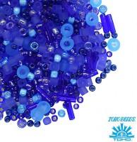Бисер TOHO Beads Mix, цвет 3230 Amamizu- Blue, в баночке, 10 грамм 059050 - 99 бусин