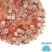 Бисер TOHO Beads Mix, цвет 3202 Piichi - Peach 10 грамм 059058 - 99 бусин
