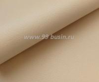 Экокожа, фактурность мелкая, размер 20*14 см, цвет кремовый, толщина 0,8 мм, 1 лист 059112 - 99 бусин