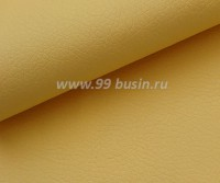 Экокожа, фактурность мелкая, размер 20*14 см, цвет желтый, толщина 1 мм, 1 лист 059114 - 99 бусин