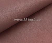 Экокожа, фактурность средняя, размер 20*14 см, цвет пыльно-сиреневый, толщина 0,8 мм, 1 лист 059116 - 99 бусин