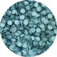 Пайетки Индия Mix чашечки 8*2 мм, бирюзовый дуэт арт. 537, упаковка 5 грамм 059323 - 99 бусин