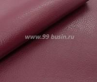 Экокожа, цвет марон, размер 20*14 см,  толщина 0,9 мм, фактурность мелкая, 1 лист 059382 - 99 бусин