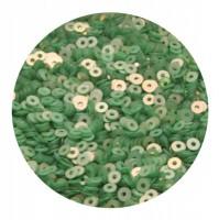 ОПТ Пайетки плоские 4 мм Pistachio Green № 996 Индия 30 грамм/упаковка 059431 - 99 бусин