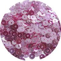 ОПТ Мини пайетки плоские 3 мм Mulberry Color Crystal Finish  № 1478 Индия 30 грамм/упаковка 059456 - 99 бусин