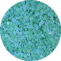 Пайетки Индия Mix круглые, диаметр 4 мм, мятный леденец арт. 493, упаковка 5 грамм 059498 - 99 бусин